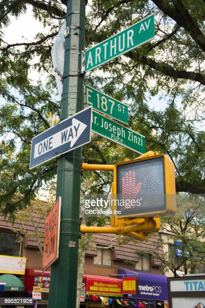 Street Sign - Arthur Ave, Bronx