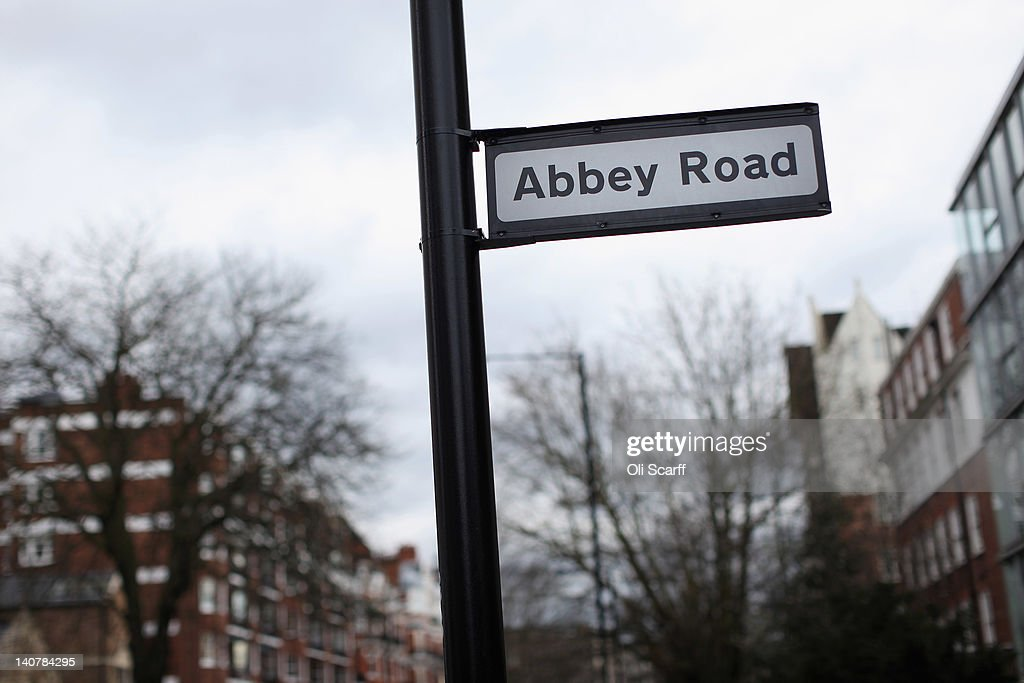 Abbey Road In St Johns Wood Made Famous By The Beatles : News Photo