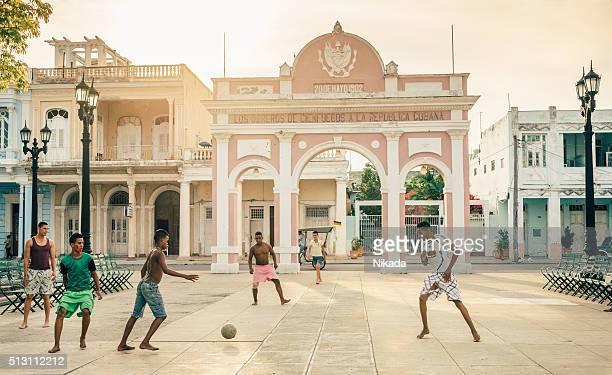 street soccer in Cuba