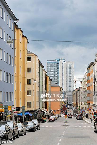 A street, Stockholm, Sweden.