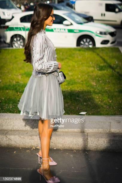 Street Style At Armani Fashion Show: February 20 - Milan Fashion Week Fall/Winter 2020-2021