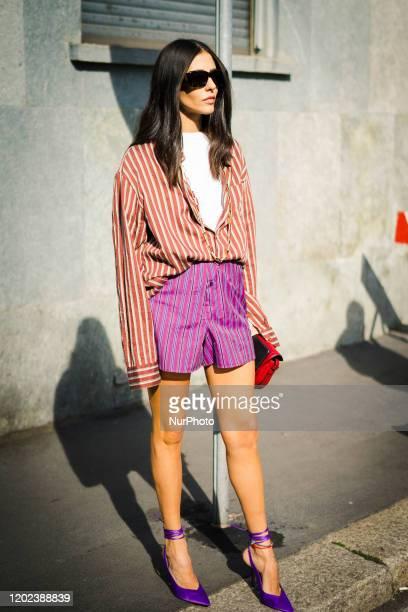 February 21 Milan Fashion Week Fall/Winter 20202021 21 February 2020 Milan Italy