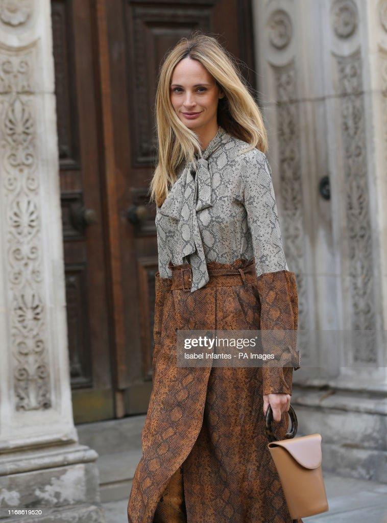 London Fashion Week September 2020.Street Style During The Spring Summer 2020 London Fashion