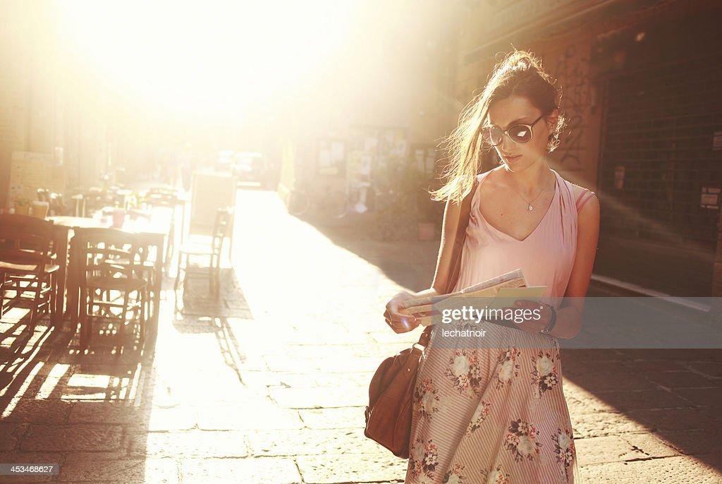 street style fashion : Stock Photo