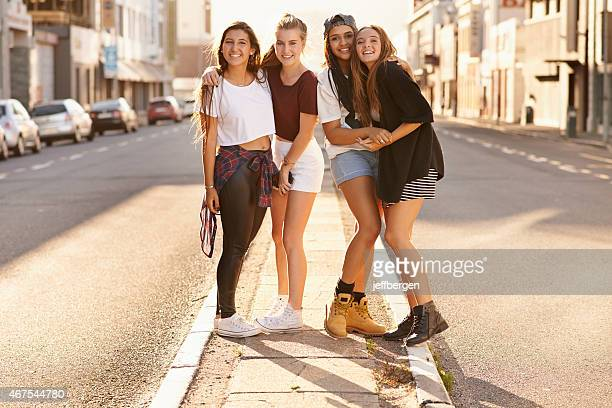 street style - clique stock photos and pictures