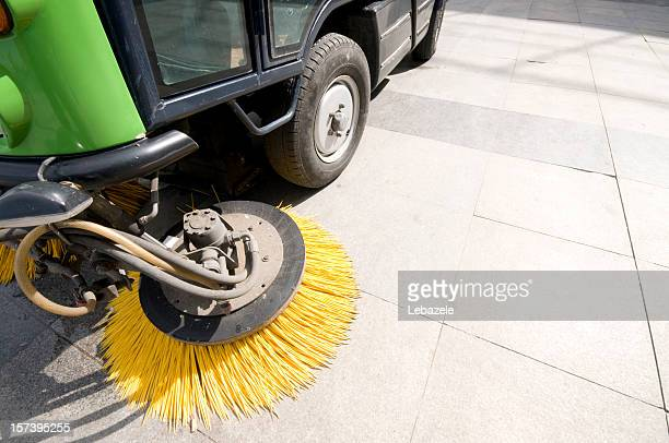 street sweeper - street sweeper stock pictures, royalty-free photos & images