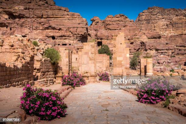 Street to the Hadrian Gate and the Cardo Maximus in Petra