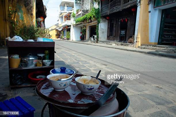 Street Tofu pudding in Hoi An, Quang Nam, Vietnam