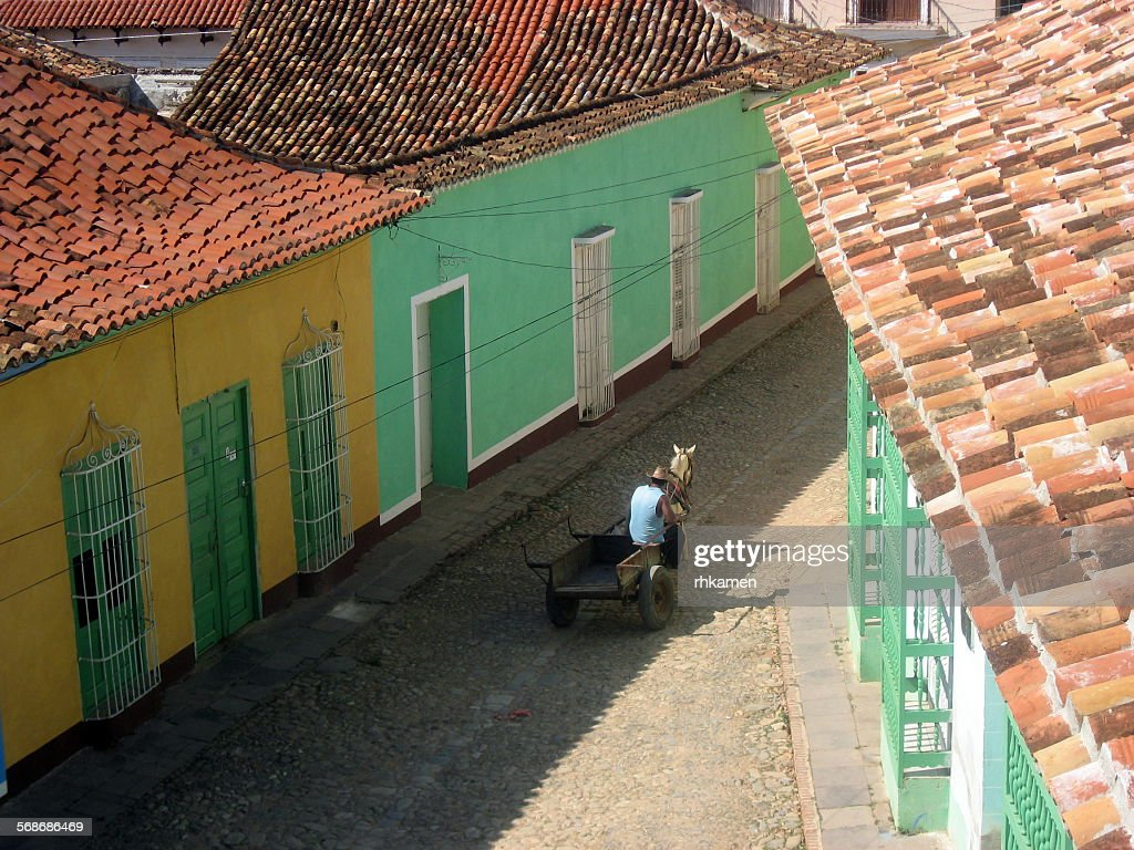 Street, Trinidad, Cuba : Stock Photo