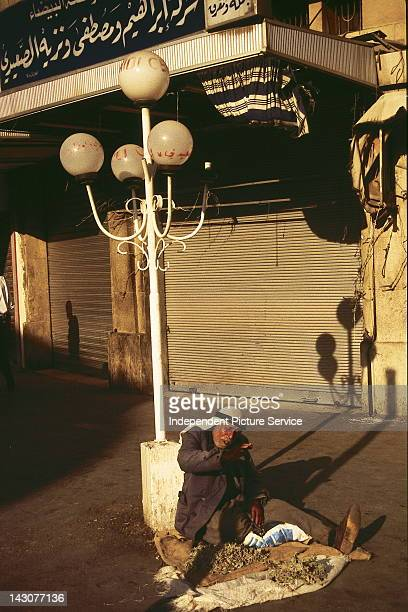 Street vendor in Amman Jordan