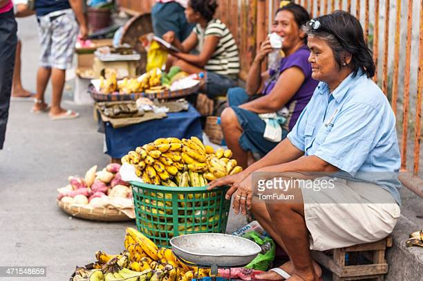Street Vendor in Philippines