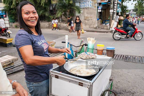 street vendor in philippines - filipino culture stock pictures, royalty-free photos & images