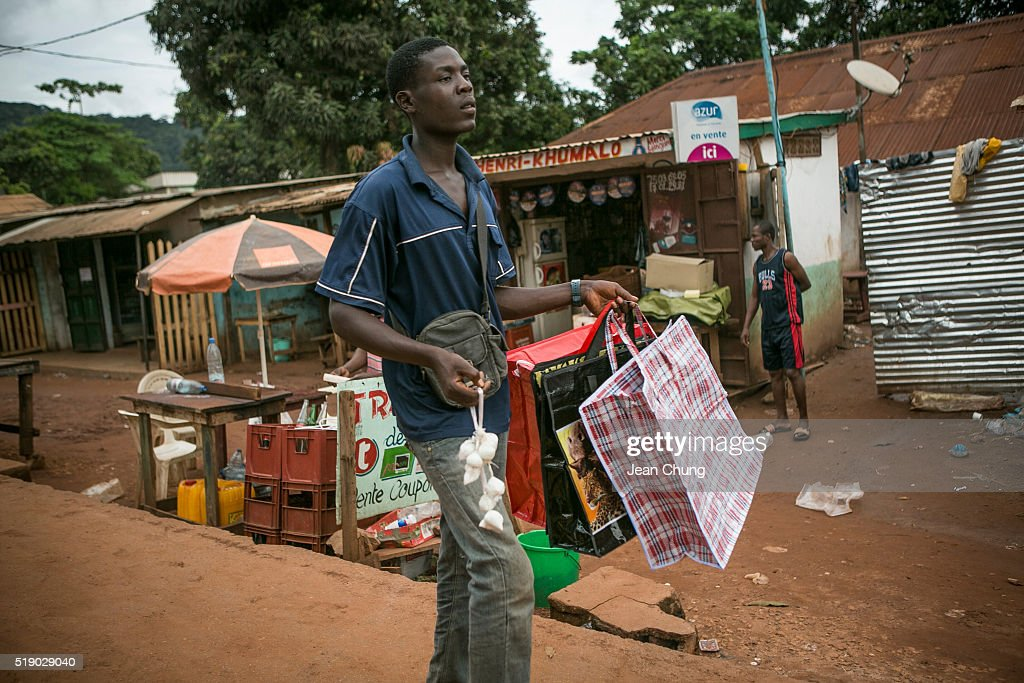 Central African Republic In Shatters By War And Poverty : News Photo