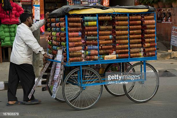 Street vendors are a common sight in the towns and cities of Nepal, like in most Asian cities. Treats range from bangles, T-shirts, nuts, doughnuts...