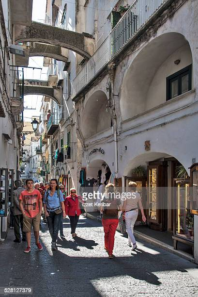Street view at Amalfi