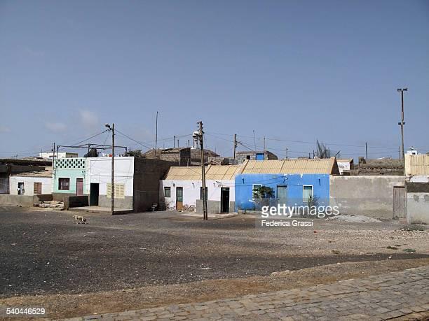 Street view, Espargos, capital of Sal island