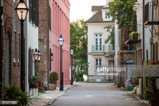 street view in charleston, sc - template_talk:south_carolina stock pictures, royalty-free photos & images