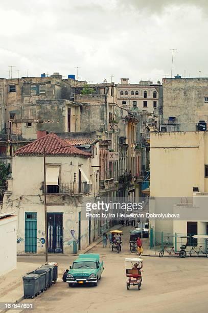 Street view in Havana, Cuba