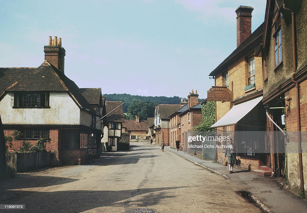 An English Country Village : News Photo