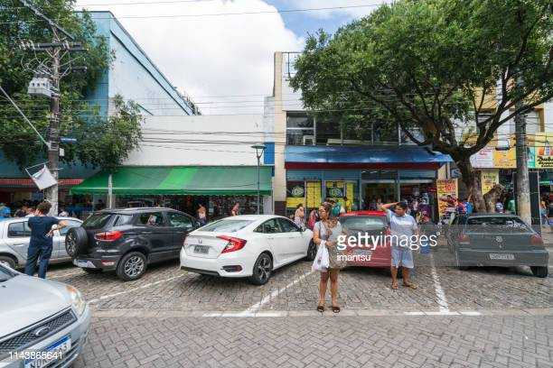 street view in manaus, brazil - manaus stock pictures, royalty-free photos & images