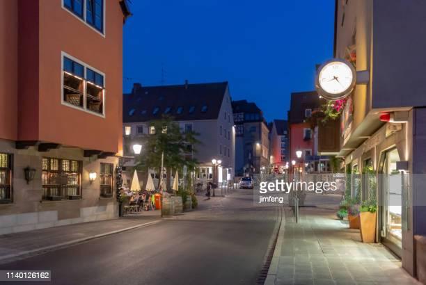 Street view in Nuremberg, Germany (Karolinenstraße)