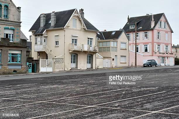 Street view of Berck in the Pas-de-Calais department of France