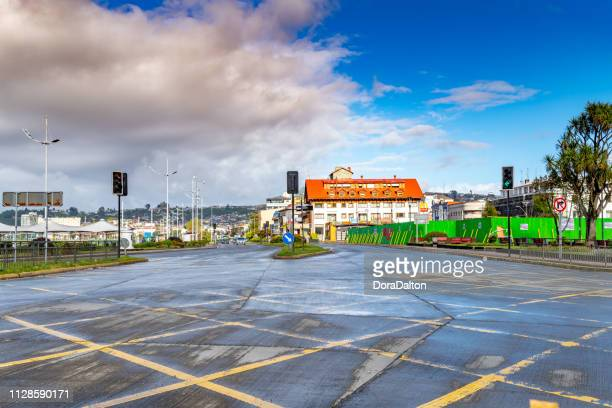 Street view of Carr Austral at Puerto Montt
