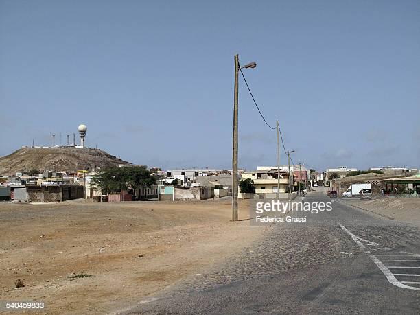Street view of Espargos, Sal Island
