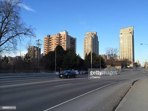 Street view of London Ontario