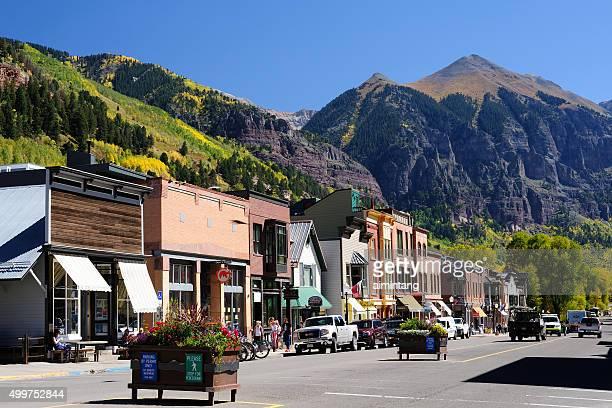 Street View of Telluride in Colorado
