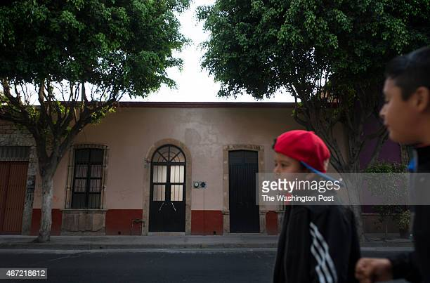Street view of the home where Columba Bush grew up in Leon Mexico on March 5 2015 Columba Bush is the wife of Jeb Bush a presidential candidate...