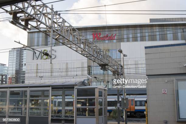 Street view of the Westfield Stratford City shopping center Stratford London England October 29 2017