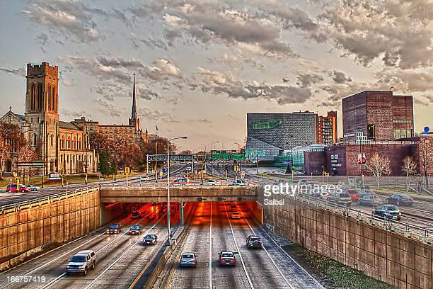 street view - st. paul minnesota stock pictures, royalty-free photos & images