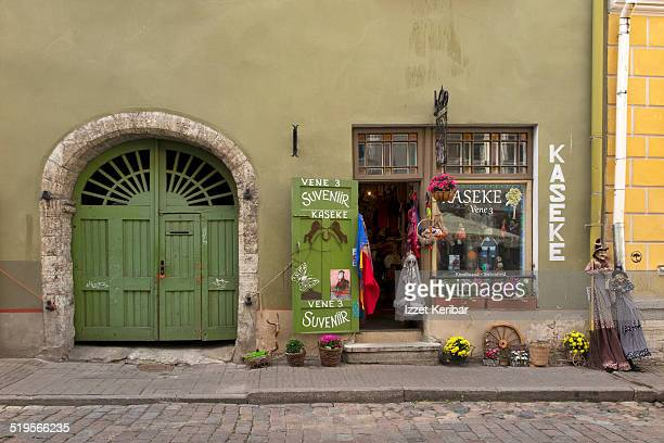 Street views of old Tallinn