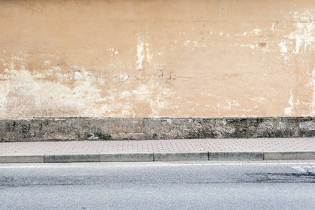 Sidewalk Street Wall Background