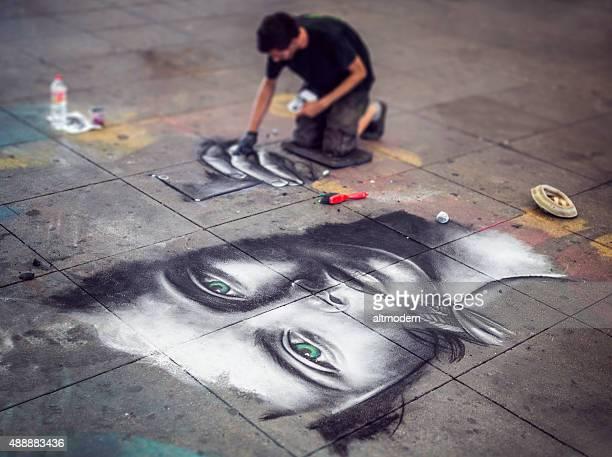 Street Artist in Berlin