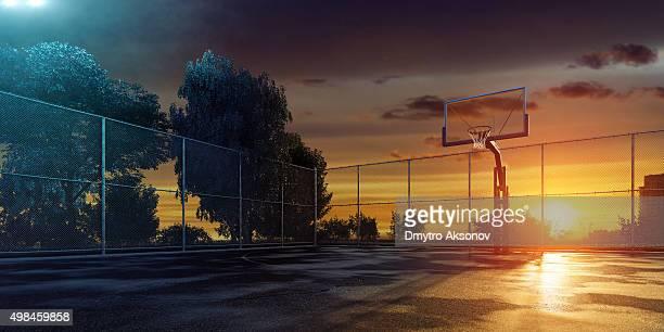 Streetball terrain de jeu