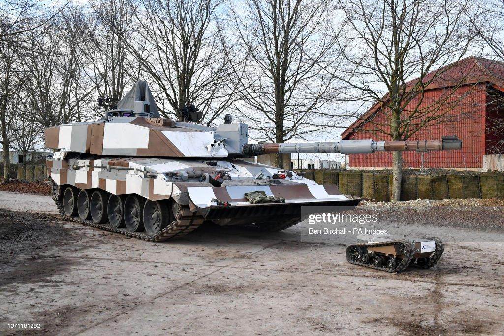 Autonomous Warrior 18 exercise : News Photo