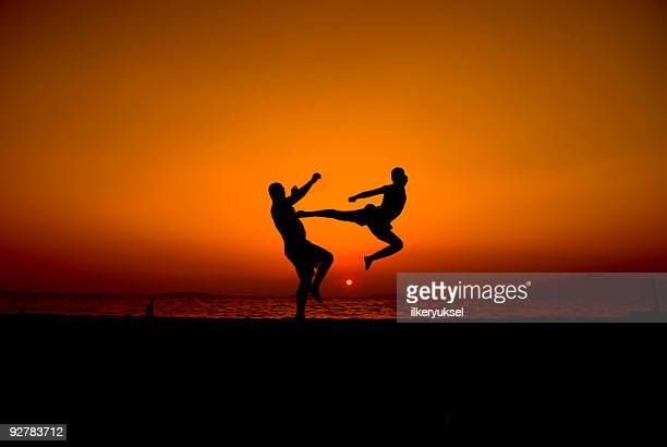 street-fighter - kung fu stock photos and pictures