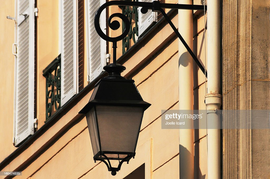 Streetlamp in 'Saint Germain des Près' : Stock Photo