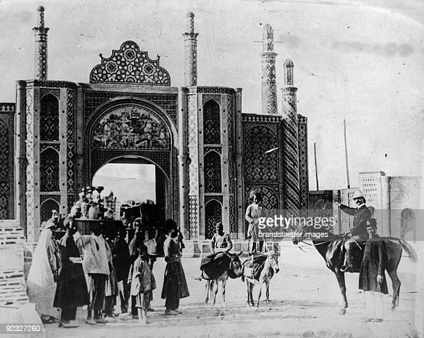 Streetlife in Teheran Iran Photograph Around 1930
