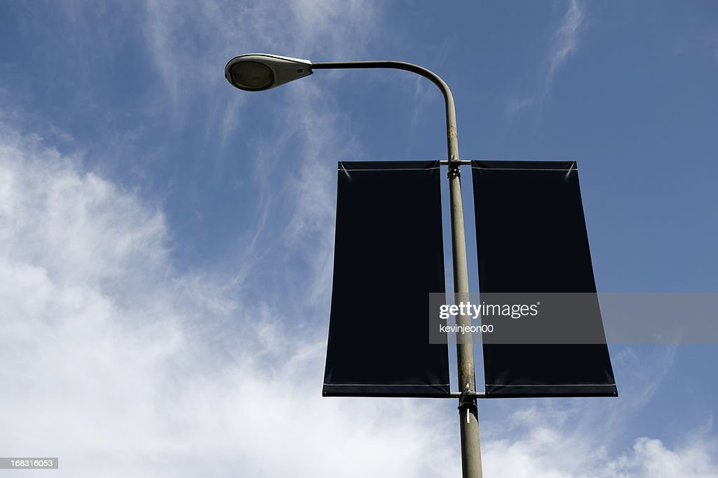 Streetlight Banner : Stock Photo
