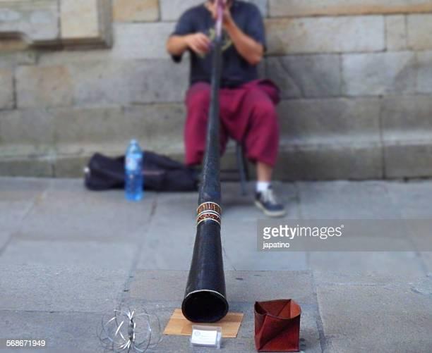 Streetmusician didgeridoo