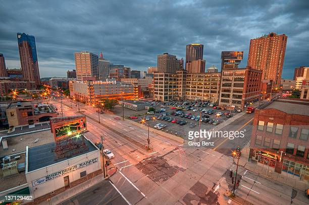 Streets and buildings of downtown St Paul set agai