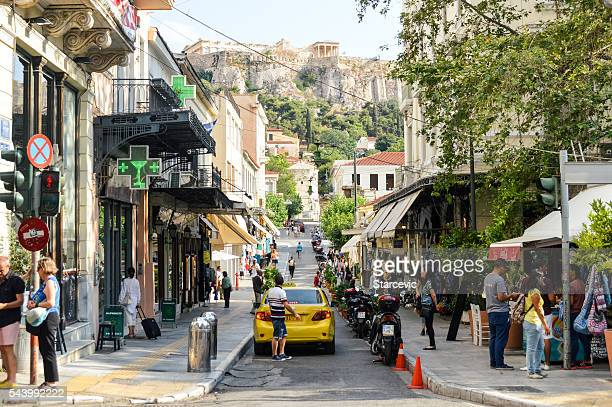 Streets and neighborhoods of Athens, Greece