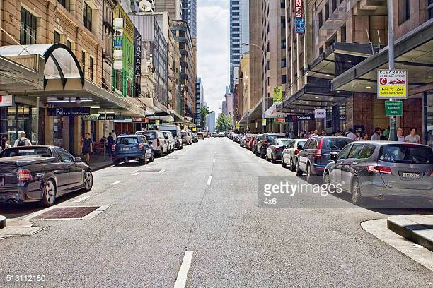 Streets in Sydney