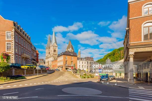 streets in town center of spa belgium - belgium ストックフォトと画像