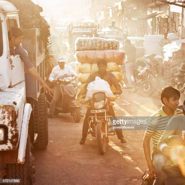 Streets of Agra, India