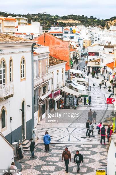 Calles de Albufeira, Algarve.