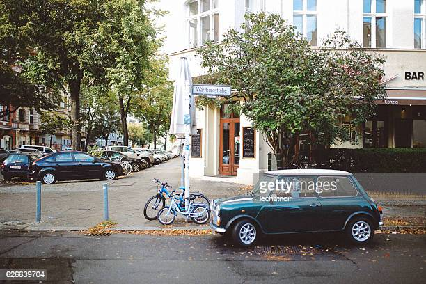 streets of berlin - kreuzberg stock photos and pictures